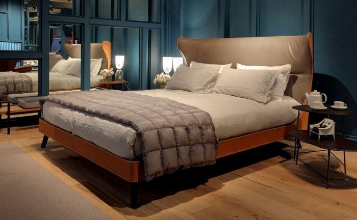 復刻近原裝Poltrona Frau Mamy Blue Bed/雙人床 台灣嚴選工廠製造/輕工業-訂製款