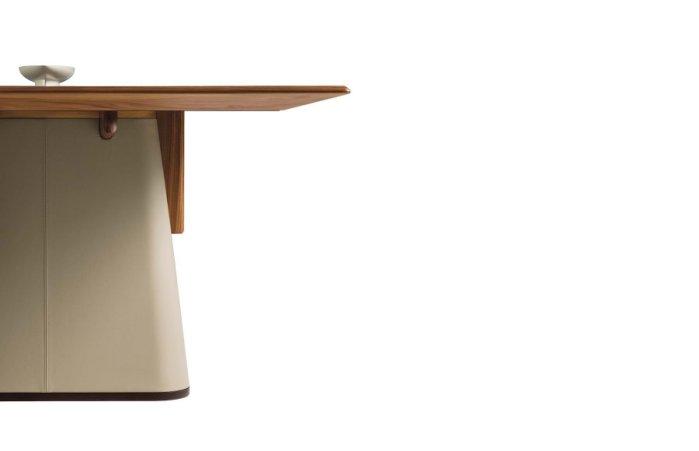 復刻Giorgetti Fang Table質感餐桌/工作桌/商空配置/居家/圓桌/會議桌-訂製款