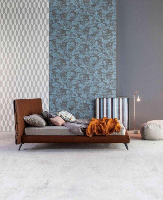 復刻Bonaldo cuff bed/雙人床 台灣嚴選工廠製造/輕北歐/輕美式-訂製款